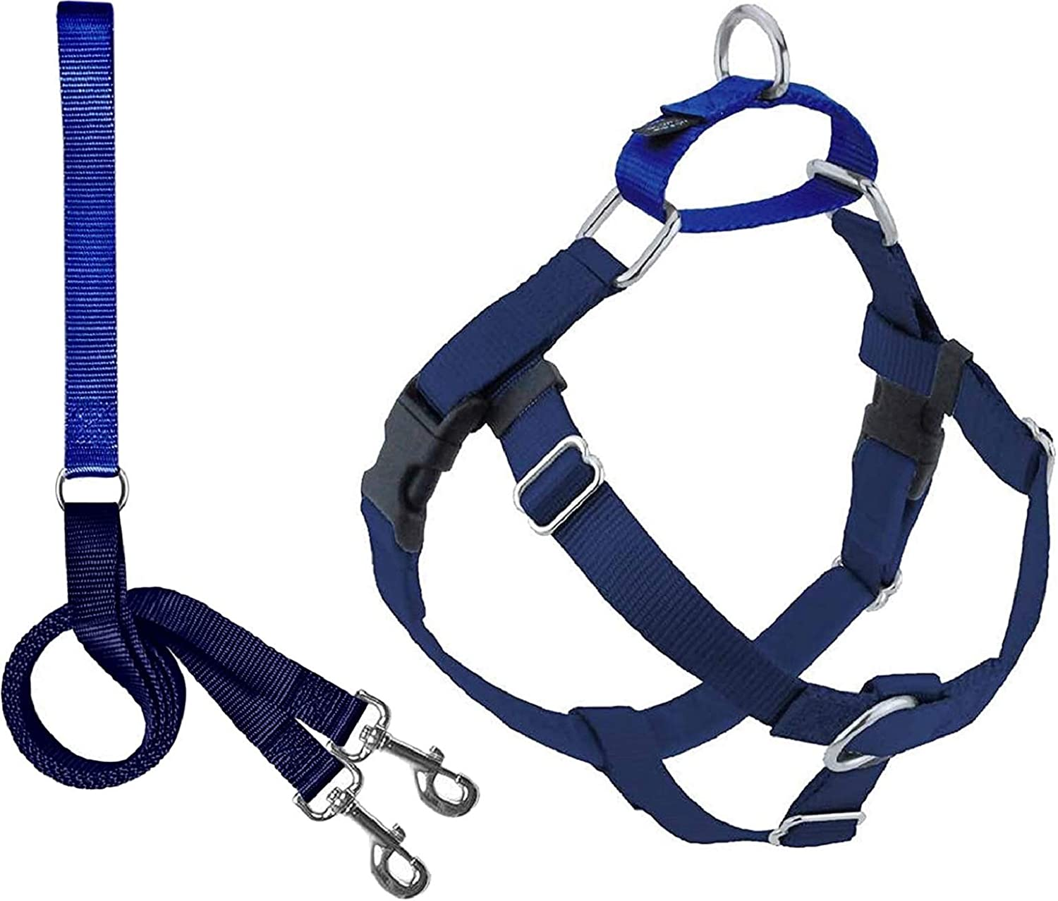2 Directly managed store Hounds Design Freedom No Harness Dog Pull Adjustable Gentle Very popular