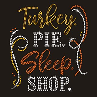 Best thanksgiving iron on decals Reviews