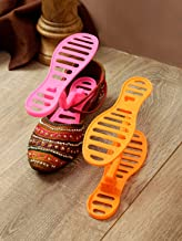 Cortina Plasic 1pcs Shoe Stand, Durable Shoe Organizer/Shoe Shelf/Shoe Rack/Shoe Stand for Home - Orange