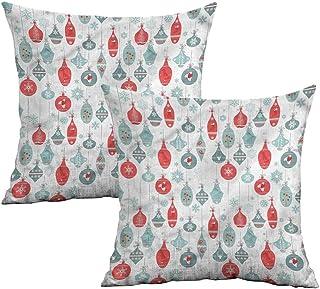 Khaki home Boys Room Square Personalized Pillowcase Athletic Muscular Men Square Pillowcase Covers Cushion Cases Pillowcases for Sofa Bedroom Car W 18 x L 18 2 pcs Bedding & Slumber Bags