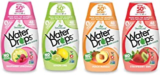 Sweetleaf Stevia Natural Water Drops Variety Pack with Raspberry Lemonade, Lemon Lime,..