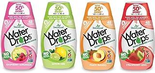 Sweetleaf Stevia Natural Water Drops Variety Pack with Raspberry Lemonade, Lemon Lime, Peach Mango & Strawberry Kiwi (1.62...