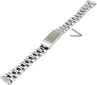 Speidel Ladies 11mm to 14mm Stainless Steel Adjustable Watch Band 273WR