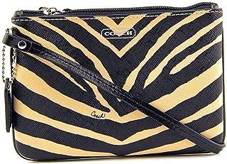 Coach Zebra Print Small Wristlet 51099