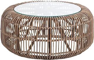 Amazon Fr Table Basse Rotin