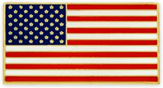 Magnetic American Flag Patriotic Suit Jacket Lapel Pin