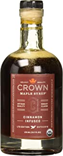 COLOMBIA Crown Maple Syrup Cinnamon Infused, 12.7 fl oz