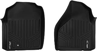 MAXLINER Floor Mats 1st Row Liner Set Black for 2002-2008 Dodge Ram 1500/2003-2009 Ram 2500/3500 (All Models)