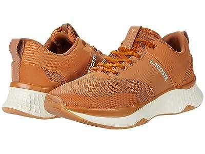 Lacoste Court-Drive Plus 0120 3 (Brown/Off-White) Men