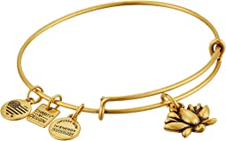 Charity by Design Lotus Blossom Charm Bangle