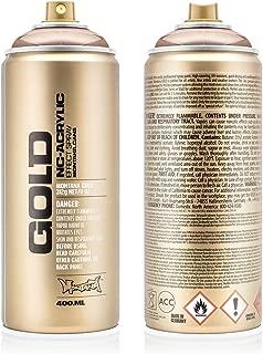 Montana Cans MXG-M2000 Montana Gold 400 ml Color, Copperchrome Spray Paint