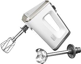 Krups GN 9031 handmixer 3 Mix 9000 Deluxe snelmixstaaf, 500 watt, Wit/Grijs