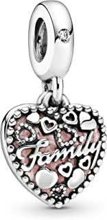 Best pandora silver family love charm Reviews