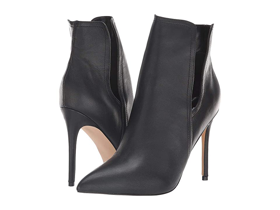 Steve Madden Zanta (Black Leather) Women's Boots