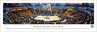 Marquette Basketball - 1st Game at Fiserv Forum - College Posters, Framed Pictures and Wall Decor by Blakeway Panoramas