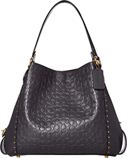 COACH Women's Edie 31 Shoulder Bag in Signature Leather