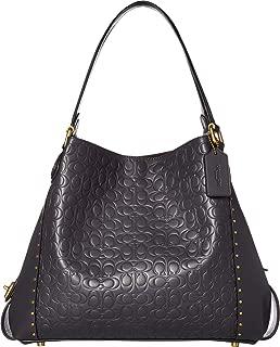 COACH Women's Edie 31 Shoulder Bag in Signature Leather
