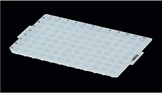 Case of 50 Axygen Impermamat AM-2ML-RD-IMP Silicone 96 Round Well Sealing Mat for 1.1ml Deep Well Plate Chemical Resistant Non-Sterile