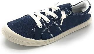 J.Mark Women Canvas Slip On Comfort Sneakers