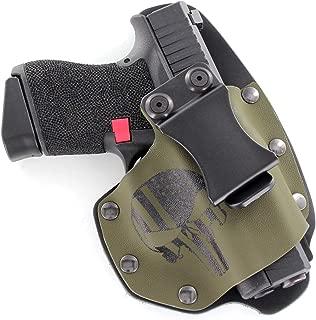 Punisher OD Green IWB NT Hybrid Kydex & Leather Holster for Handguns