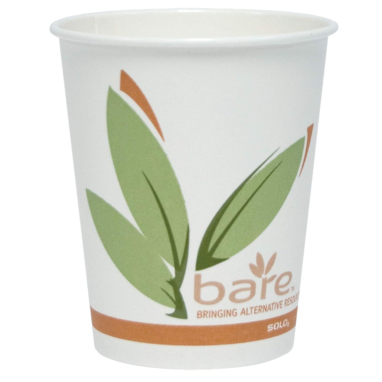 Solo Max 87% OFF 370RC-J8484 Boston Mall 10 oz Bare PCF of 1000 Hot Case Paper Cup