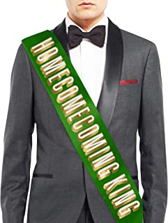 Homecoming Queen, King, Royalty, Premium Satin Sash - Homecoming Decorations & Supplies