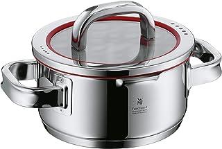 WMF Function 4-Olla pequeña de 16cm (1,9 litros de Capacidad) con Tapa, Cromargan 18/10, Acero Inoxidable Pulido, 16 cm