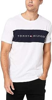 TOMMY HILFIGER Men's Pure Cotton Logo T-Shirt