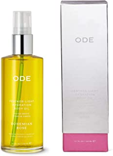 ODE natural beauty - Bohemain Rose Feather-Light Hydration Body Oil