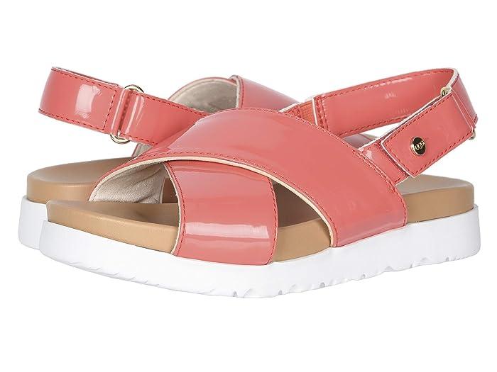UGG Kids  Klara (Toddler/Little Kid/Big Kid) (Pop Coral) Girls Shoes