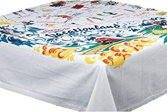 Best world map tablecloth oilcloth Reviews