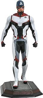 DIAMOND SELECT TOYS Marvel Gallery: Avengers Endgame: Team Suit Captain America PVC Figure, Multicolor, 9 inches
