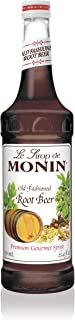 Monin - Root Beer Syrup, Classic Root Beer Taste with Hints of Vanilla, Great for Sodas, Cocktails, Floats, & Mocktails, Vegan, Non-GMO, Gluten-Free (750 ml)