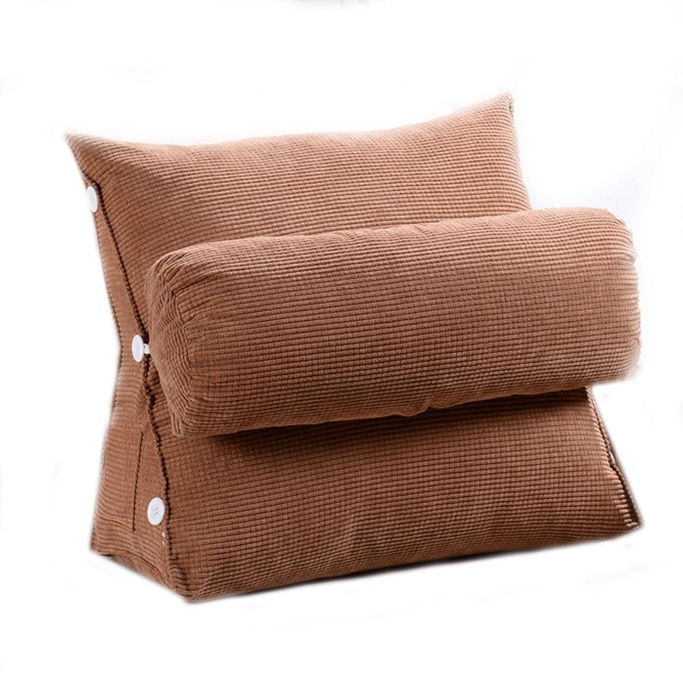 抑圧するコンサート盆地ソファクッション枕三角クッションベッドクッションバックパッドベッド枕 (色 : C, サイズ さいず : L l)