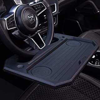 Car Steering Wheel Tray for Eating Food,Steering Wheels Desk Road Trip Essentials for Adults,Car Table Food Trays Organiza...