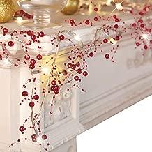 Best cranberry christmas decorations Reviews
