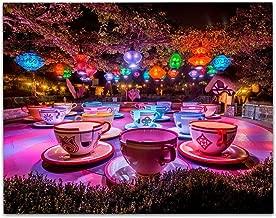 Disneyland Mad Hatter's Tea Party - 11x14 Unframed Art Print - Great Gift Under $15 for Disney Lovers