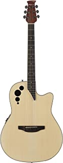 acoustic guitar with side sound hole