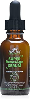 FRAGFRE Organic Super Reverse Age Serum 1 oz - Super Anti Aging Serums in One - Alpha Lipoic Acid, Hyaluronic Acid, Co-Enz...