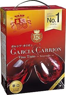 【スペインを代表する品種テンプラニーリョを100% 使用】ガルシア・カリオン テンプラニーリョ [ 赤ワイン ミディアムボディ スペイン 3000ml ]