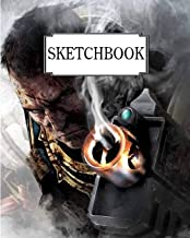 "Sketchbook: Warhammer 2: 100 Pages of 8"" x 10"" Blank Paper for Drawing (Sketchbooks)"