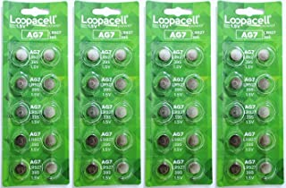 LOOPACELL AG7 LR927 395 395A 926 SR927SW LR57 SR927 Alkaline Button Cell Battery X 40