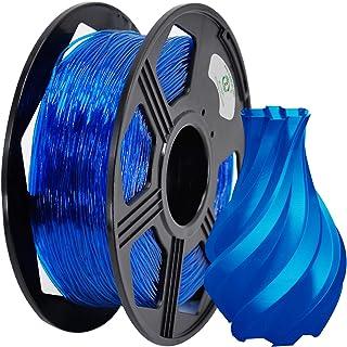 Filamento TPU 1,75 mm 1 kg, precisión dimensional +/- 0,03 mm (azul)