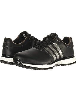 아디다스 남성 골프화 adidas Golf Tour360 XT Spikeless,Core Black/Iron Metallic/Silver Metallic