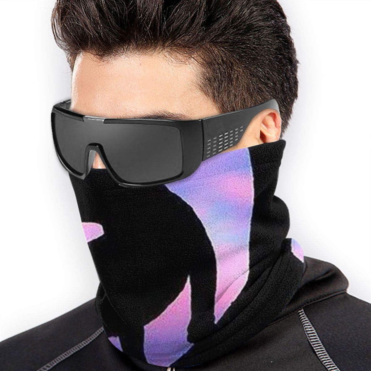 Leopard Neck Gaiter Headwear Headband Head Wrap Scarf Mask Neck/Ear Warmers Headbands Perfect For Winter Fishing, Hiking, Running, Motorcycle Etc& Daily Wear For Men And Women
