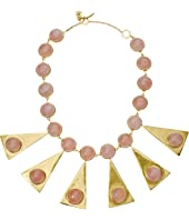 Tory Burch - Triangle Stone Statement Necklace