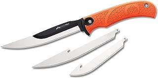 Outdoor Edge RazorMax Replaceable Fixed Blade Skinning & Boning Hunting Knife with Nylon Sheath