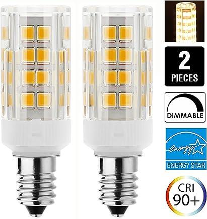 Nicemeet LED Bulb 110v for Household appliances Such as Microwave ovens 4w E17 6000k