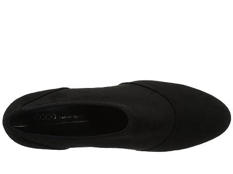 Textile Calf Plateau Black Calf Black LeatherTitanium Shootie Shape 55 ECCO Leather Black Textile vqSB0