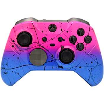 Elite 2 Custom Controller for Xbox One (Hot Pink & Blue Fade)